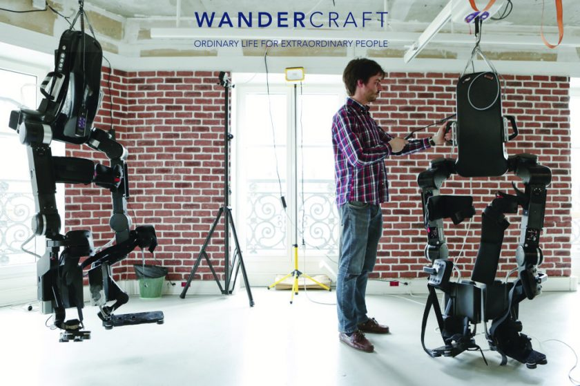 Wandercraft, a pioneer in walking robotics, is exhibiting for the first time at the ARAB HEALTH trade show in Dubai in 2020 booth Z2L15