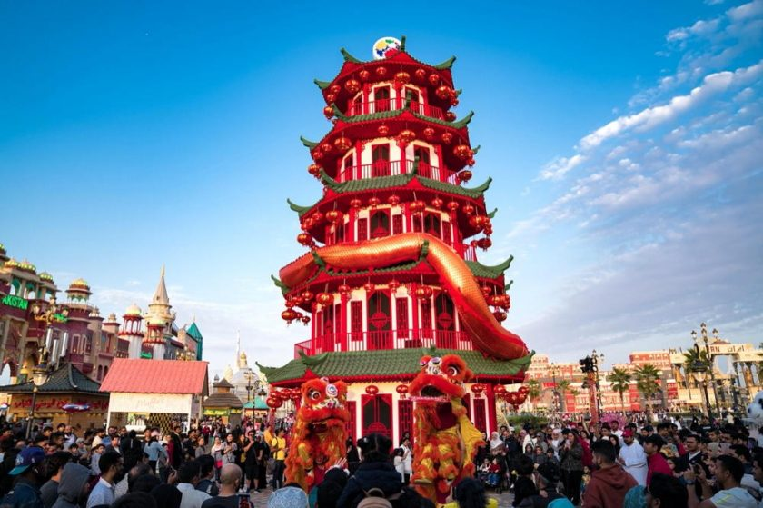 Experience an unforgettable journey to the Orient as Global Village comes to life for Chinese New Year