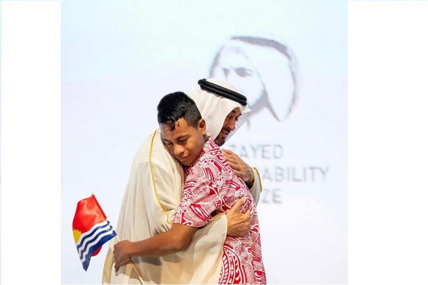 """محمد بن زايد يكرم الفائزين بـ""""جائزة زايد للاستدامة 2020″"""