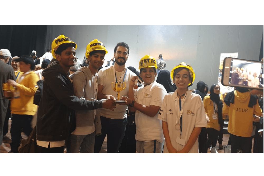 Indian boy from UAE makes it big in First Lego League