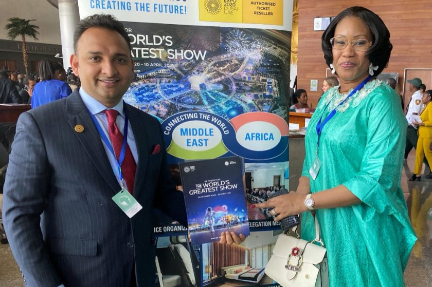 AS World Group global roadshow promotes Expo 2020 Dubaiat 33rd African Union summit in Addis Ababa