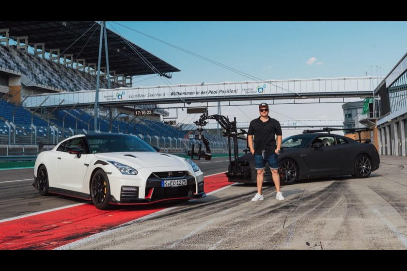 The only car capable of filming the 2020 GT-R NISMO?Another GT-R