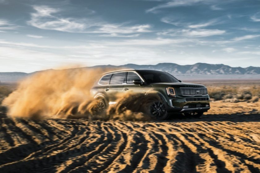 "KIA TELLURIDE WINS ""TRIPLE CROWN"" OF PRESTIGIOUS AUTOMOTIVE AWARDS"
