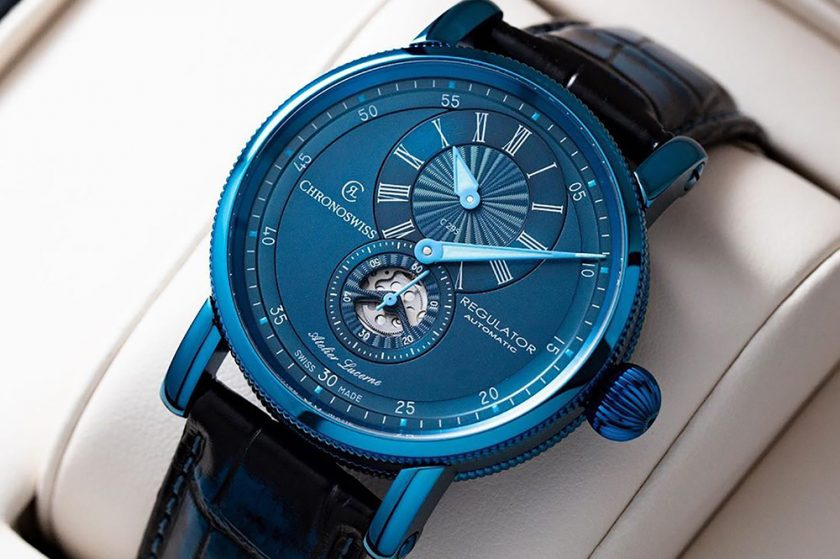 كرونوسويس تتألق بإصدار رجيوليتر كلاسيك الأزرق من الفولاذ