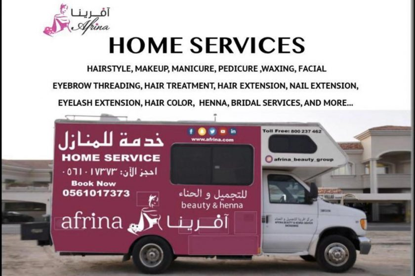Afrina Beauty service come to you where you are