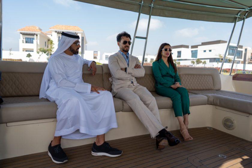 Mohammed Bin Rashid Al Maktoum City, District One hosts a Meet and Greet with stars of Baaghi 3