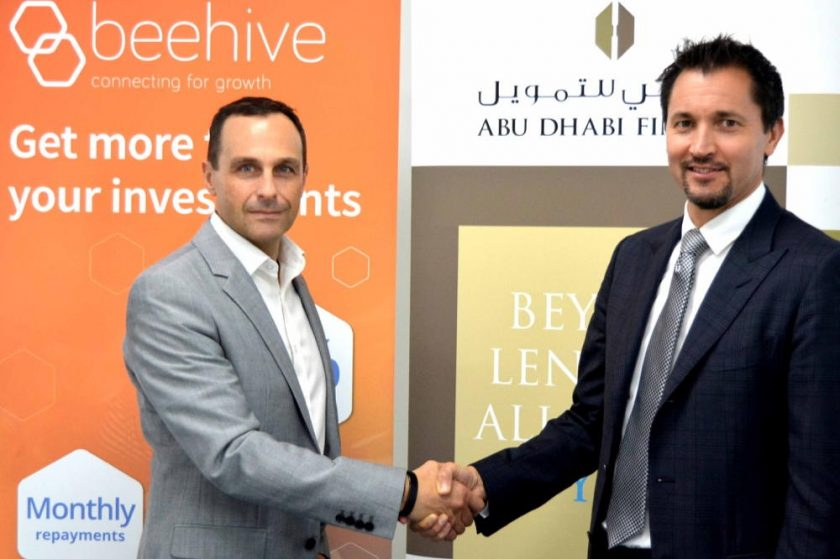 Abu Dhabi Finance&Beehive Enter Landmark Lending Partnership