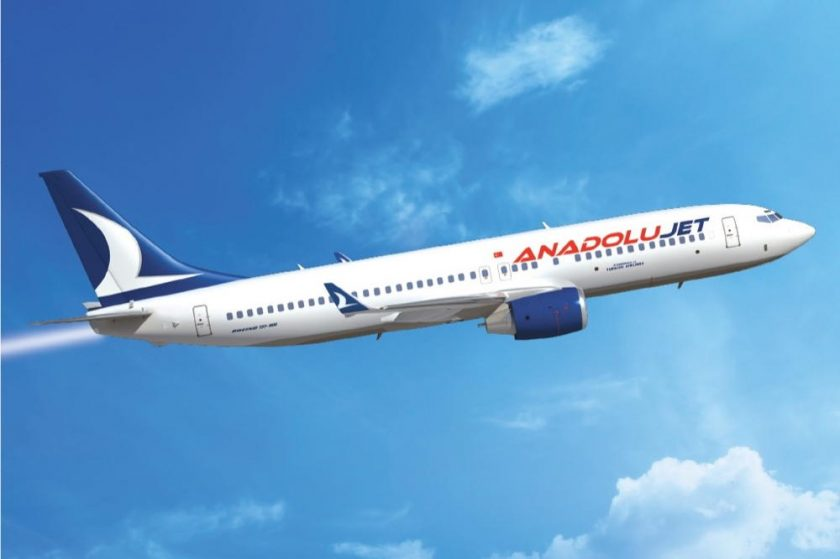 AnadoluJet will fly you to abroad at prices starting at 1 USD
