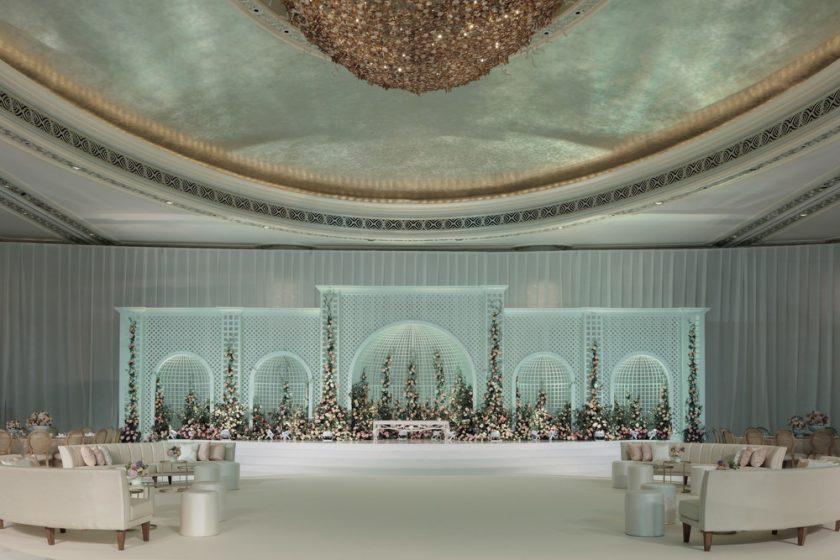 حفلات الزفاف الأسطورية المُبدعة في فندق سانت ريجيس أبوظبي