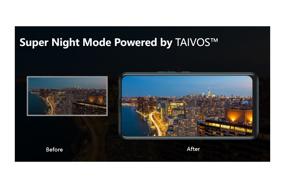 TECNO CAMON 15 with TAIVOS™ has the potential to be the true Night Shot King