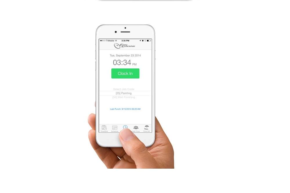 EasyClocking facilitates for employees to work from home through it's easy attendance and job coding mobile app