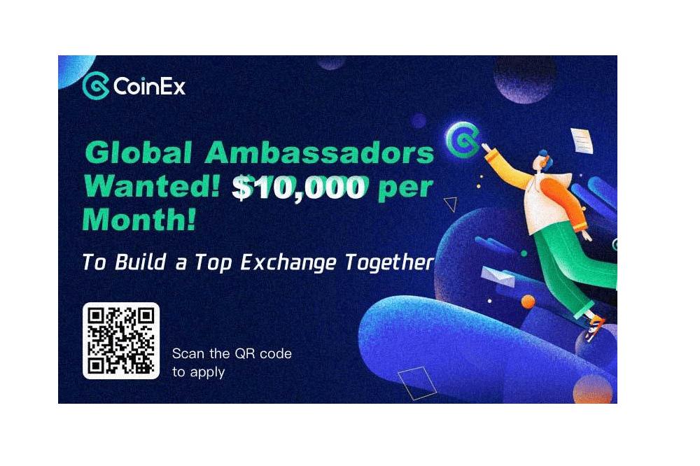 CoinEx Announces Ambassador Program to Reward and Support Community Members