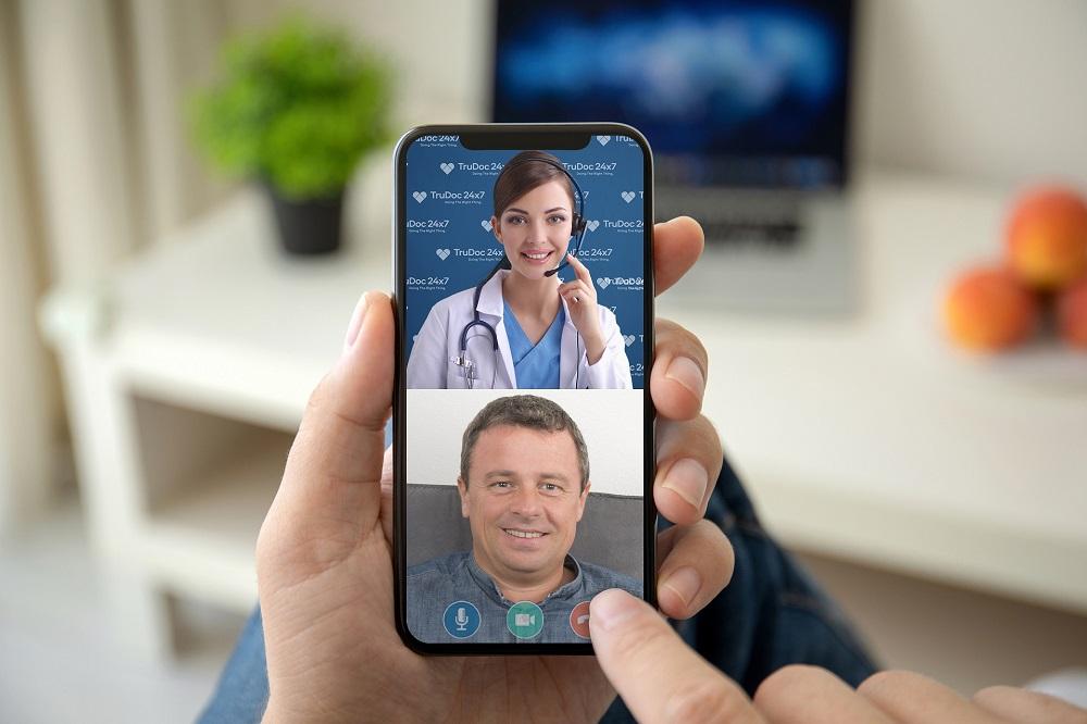"""أطباء مرخصين من هيئة صحة دبي يقدمون استشارات طبية عن بُعد عبر تطبيق """"ترو دوك """"TruDoc 24×7"""" لمواجهة فيروس """"كورونا"""""""