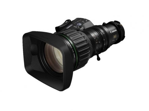 Easy operation, excellent image quality – Canon's CJ18ex7.6B KASE is the perfect compact lens for broadcast studio productions