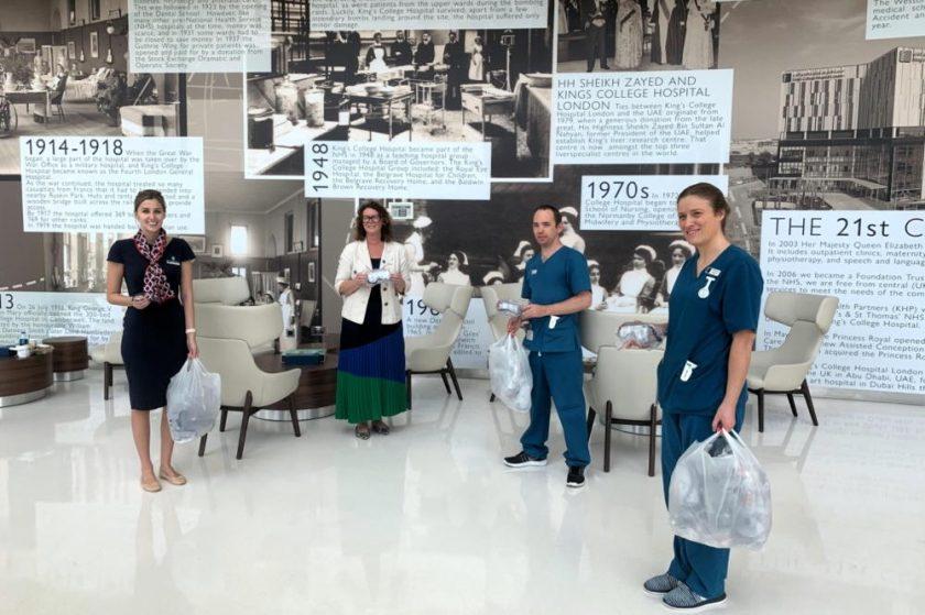 GEMS Wellington Academy, Al Khail donates medical equipment to King's College Hospital Dubai