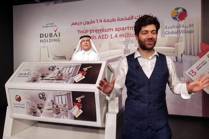 Global Village and Dubai Holding announceraffle winner of AED 1.4 million Dubai Wharf apartment