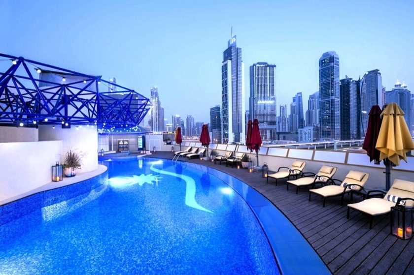 Stay Safe with a Relaxing Staycation  at LEVA Mazaya Centre Hotel in Dubai