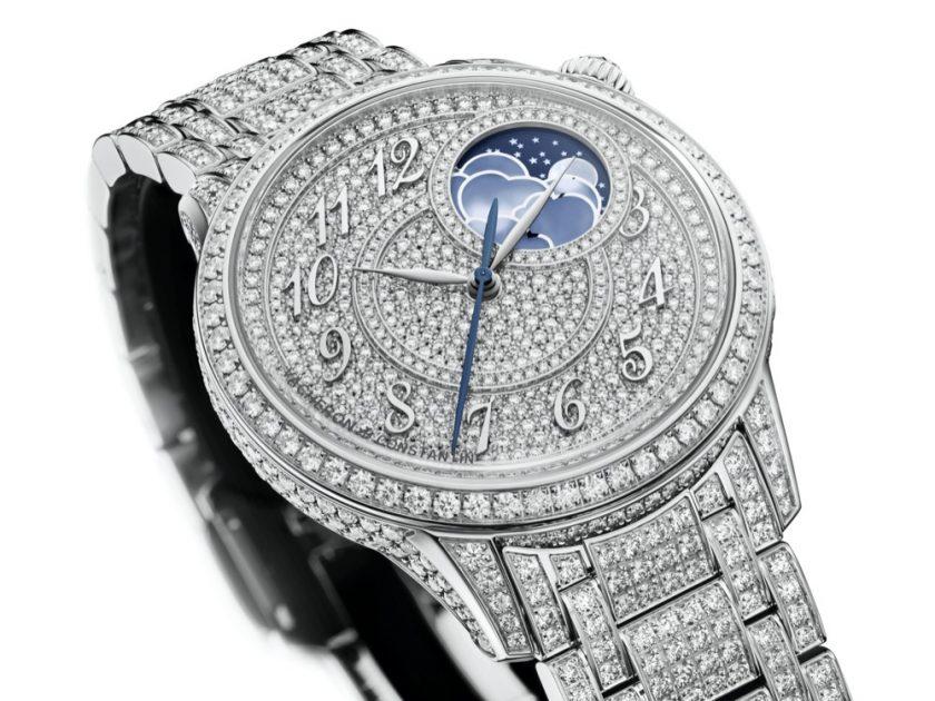 "Égérie moon phase, jewellery  Diamond-studded femininity  Enter the world of ""Haute Manufacture"""