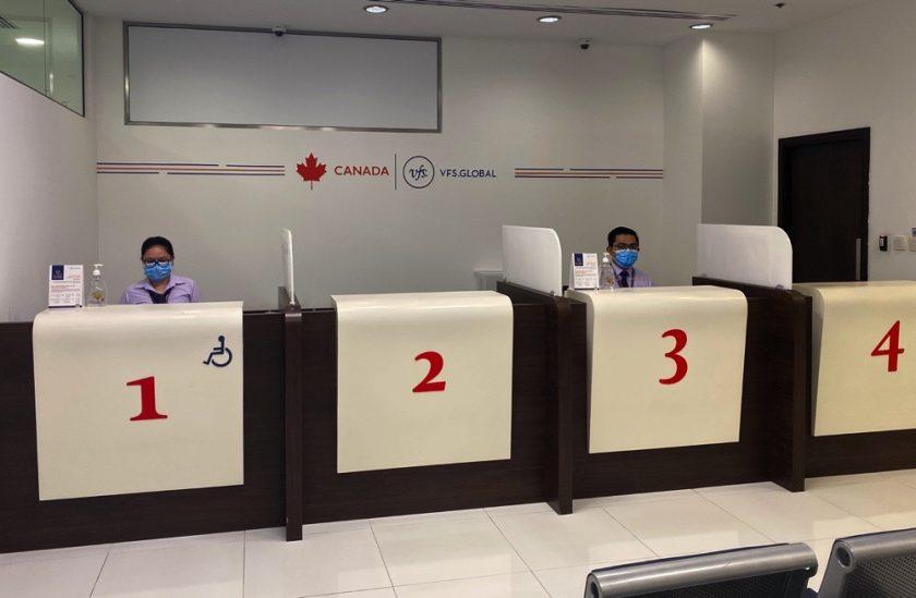 """""""في إف إس جلوبال"""" تعيد فتح مركز تقديم طلبات التأشيرة الكندية"""