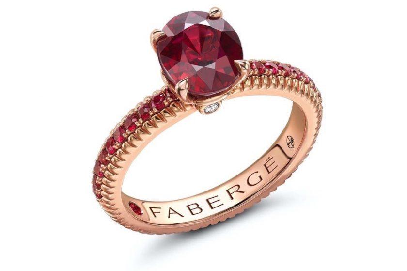 Fabergé Celebrates July's Birthstone: Ruby