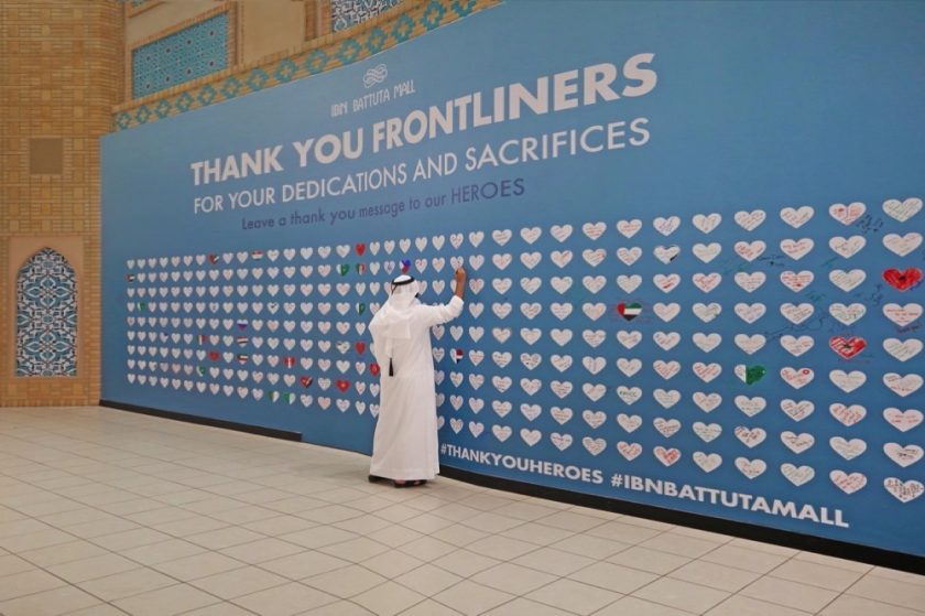 Ibn Battuta Mall shares the love with more than 1,000 'thank you