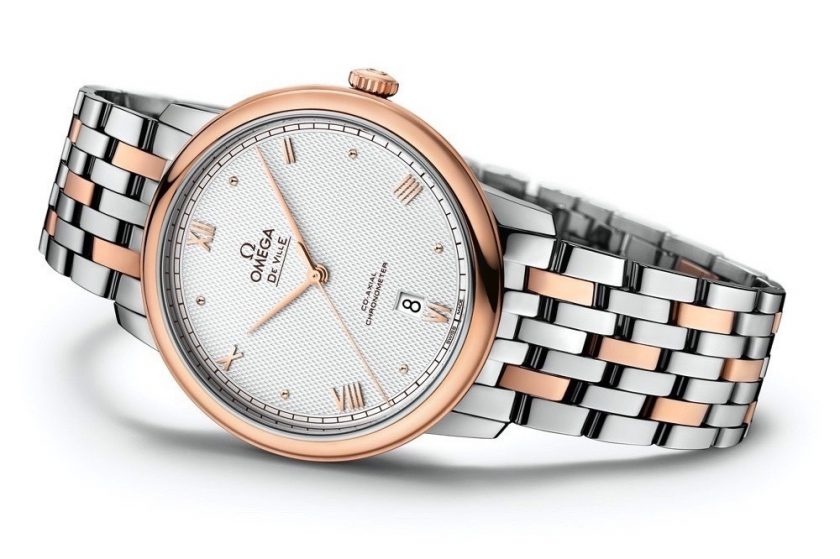 OMEGA Introduces New Dials For  The De Ville Prestige
