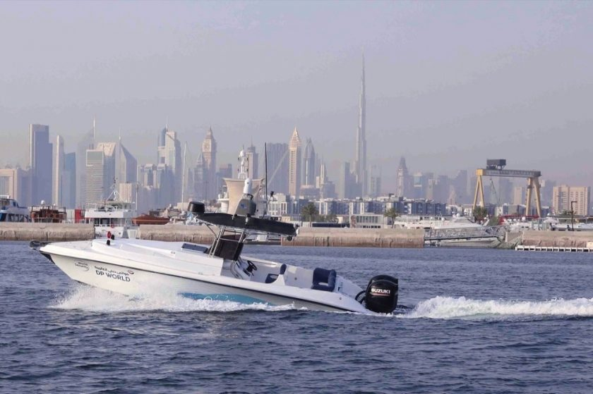 THE FIRST FULLY AUTONOMOUS SECURITY SURVEILLANCE BOAT