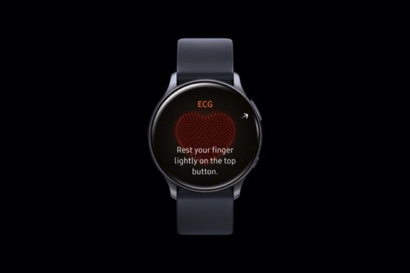 تطبيق Samsung Health Monitorعلى ساعة Galaxy Watch Active2