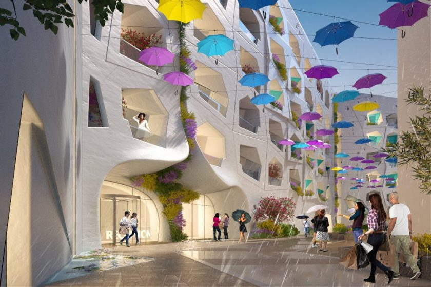 Kleindienst Group Announces the Construction of a 1-km 'Raining Street' at the Heart of Europe in Dubai