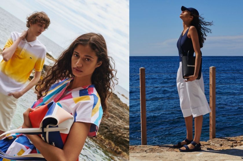 LACOSTE LAUNCHES 'A PLACE IN THE SUN'