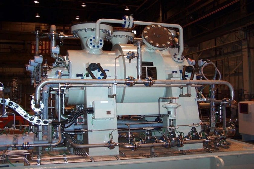 Siemens compressors selected for gas reservoir