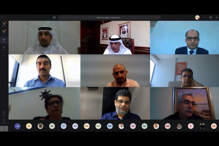 المجلس الاستشاري لجمارك دبي يناقش مرحلة ما بعد كورونا