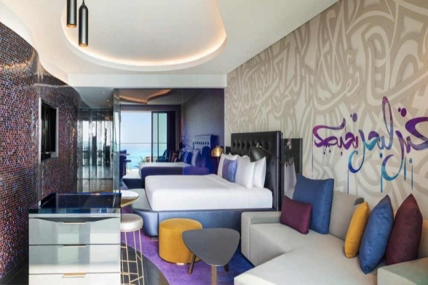 THE HOTTEST HOTEL IN THE CITY, W DUBAI – THE PALM IS