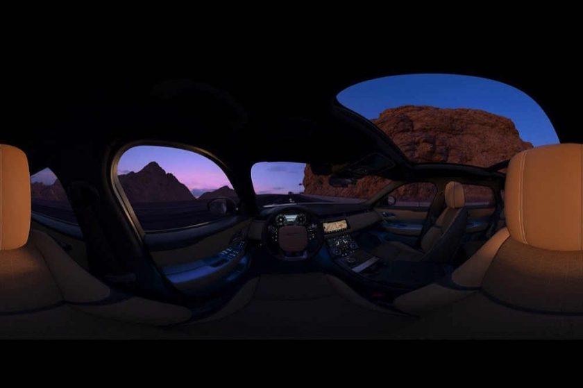 Land Rover MENA's first immersive 360° film celebrates