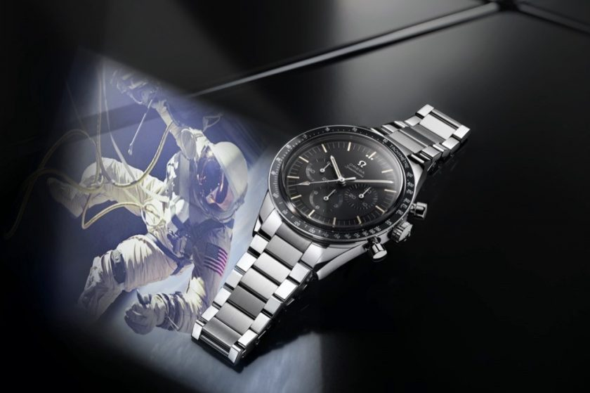 Celebrating the launch of OMEGA's 321-powered Moonwatch