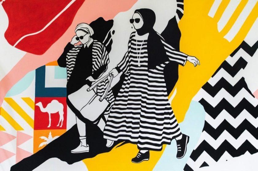 Ibn Battuta Mall unleashes its creativity with live mural