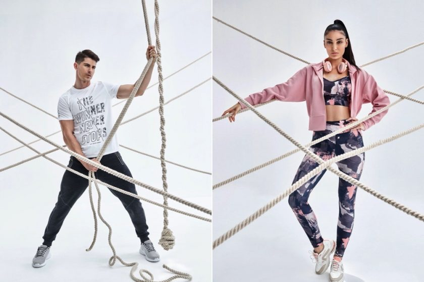 You will want to be wearing urban activewear