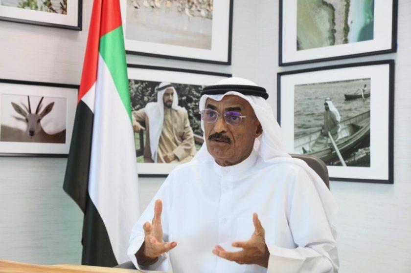 His Excellency Dr Abdullah Belhaif Al Nuaimi Chairs