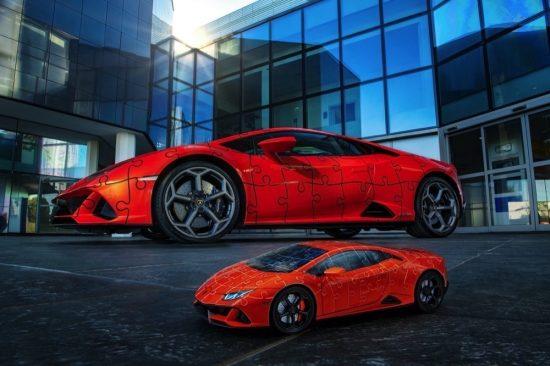 'لامبورغيني هوراكان EVO' تتيح تصميم نموذج سيارة رياضية فائقة