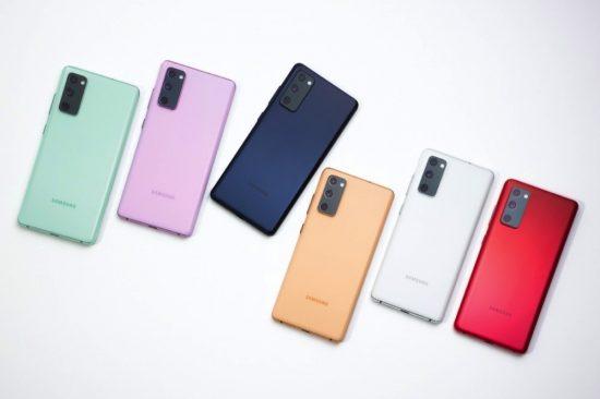 سامسونج تكشف عن هاتفها الجديد Galaxy S20 FE