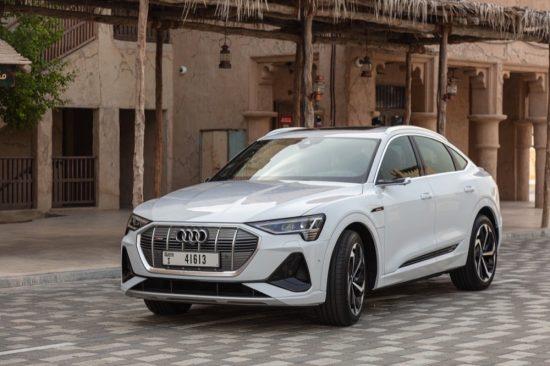 سيارة Audi e-tron Sportback الكهربائية متوفرة الآن