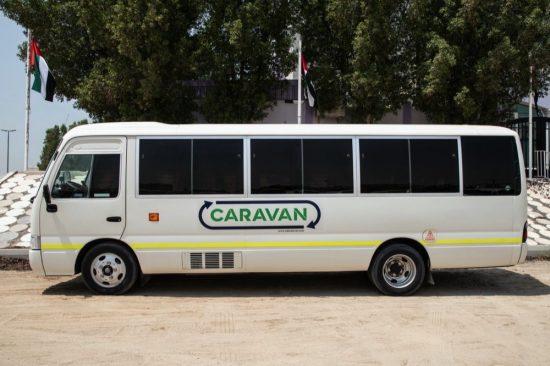 كرفان توسع نطاق خدماتها المبتكرة للنقل بالحافلات