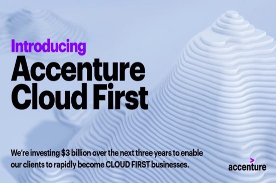 Accenture Cloud First Launches with  Billion Investment
