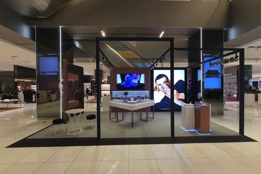 Samsung collaborates with Harvey Nichols