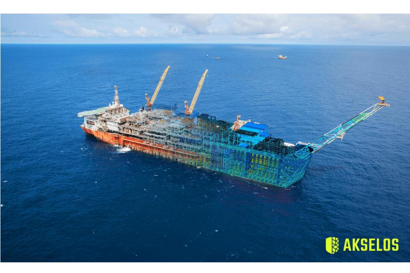 Akselos Deploys Digital Twin of Shell's Bonga FPSO
