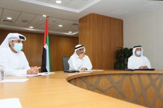 His Excellency Dr Abdullah Belhaif Al Nuaimi Chairs Third Meeting