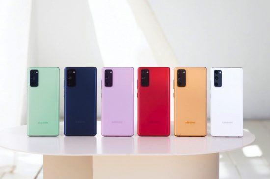 سامسونج تطلق هاتفها الجديد Galaxy S20 FE