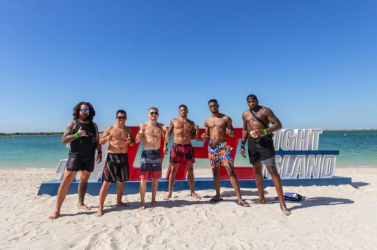 Fighters Soak Up Island Life Ahead of UFC 254 Showdown