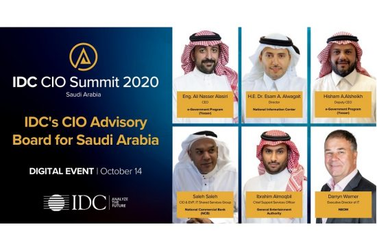 Saudi Arabia's Most Influential ICT Leaders Gather Online for Virtual IDC CIO Summit