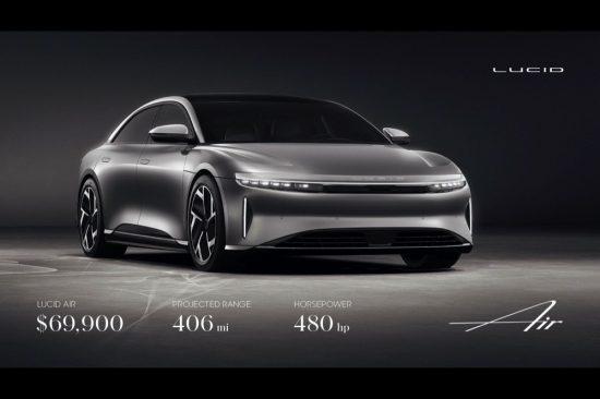 Lucid Motors Expands Luxury EV Lineup